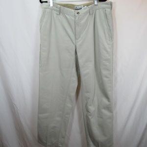 Columbia Khaki Beige Long Pants W/ Pockets Hiking